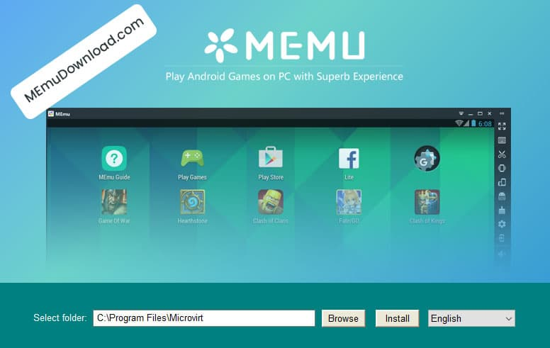 memu for windows pc mac