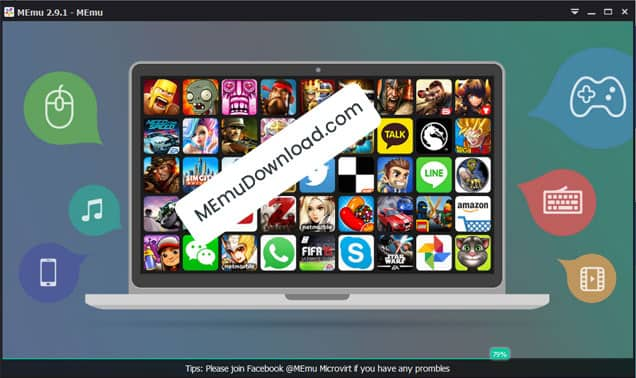 Download MEmu for PC (Nougat) Windows 10/7/8/8 1 Laptop - FREE