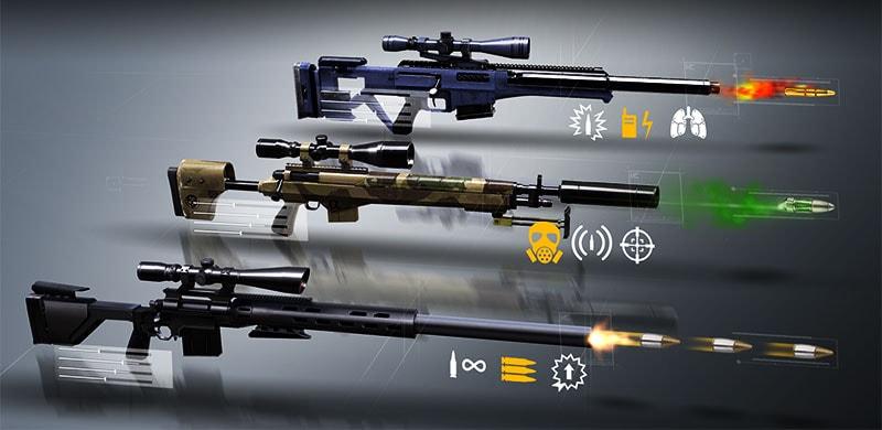 hitman sniper unlock all guns android
